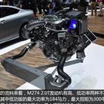 奔驰E 2.0发动机