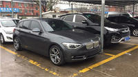 添置二手BMW118i 进口1系——灰色更性感