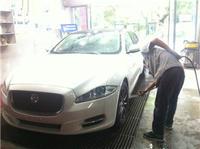 车主分享  给 捷豹XJL镀膜。