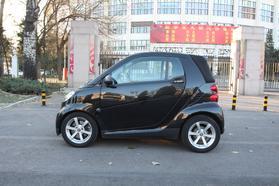smart fortwo 2010款 1.0 敞篷 哑光灰限量版高清图片
