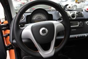 smart fortwo 2011款 1.0T 硬顶燃橙版高清图片
