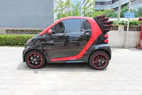 smart fortwo 2012款 1.0T 硬顶烈焰特别版高清图片