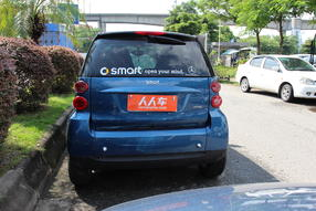 smart fortwo 2010款 1.0 硬顶 哑光灰限量版高清图片