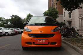 smart fortwo 2011款 1.0 MHD 硬顶燃橙版高清图片