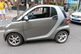smart fortwo 2012款 1.0T 流光灰特别版高清图片
