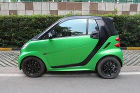 smart fortwo 2012款 1.0 MHD 敞篷激情版高清图片