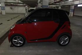smart fortwo 2012款 1.0T 硬顶激情版高清图片