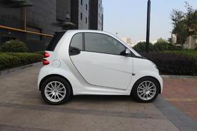 smart fortwo 2014款 1.0 MHD 硬顶新年特别版高清图片