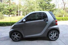 smart fortwo 2011款 1.0 MHD 硬顶激情版高清图片
