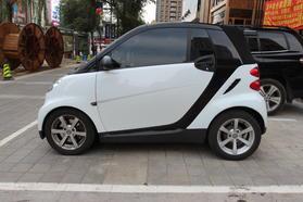 smart fortwo 2009款 1.0 MHD 敞篷 style版高清图片