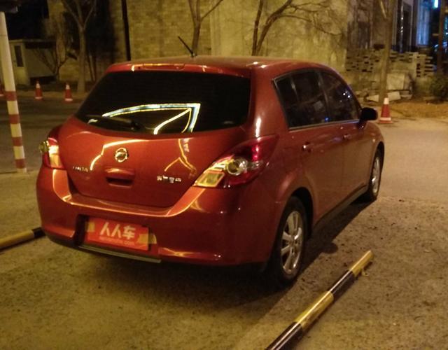 精真估提供二手车骐达 2008款 1.6L 手动 时尚型