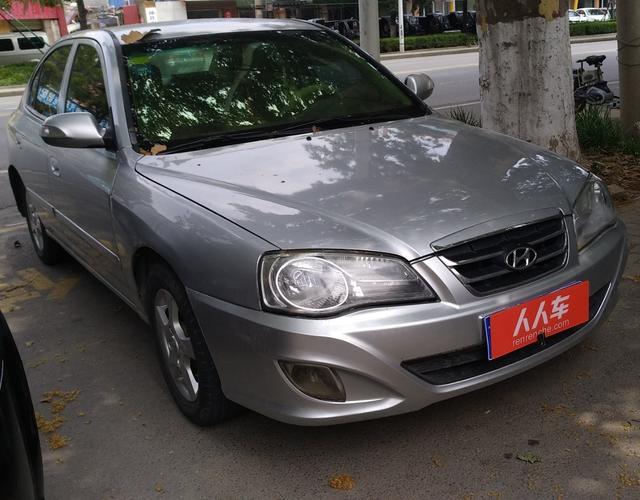 现代伊兰特 2011款 1.6l 手动 三厢轿车 gl舒适型 (国Ⅳ)图片