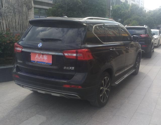 东风景逸x5 2017款 1.5t 自动 前驱 劲享尊享型 (国Ⅴ)