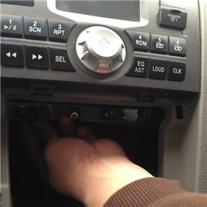 如何挑选二手车 新polo的cd装载小5身上9