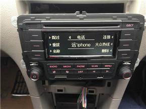 如何挑选二手车 新polo的cd装载小5身上18