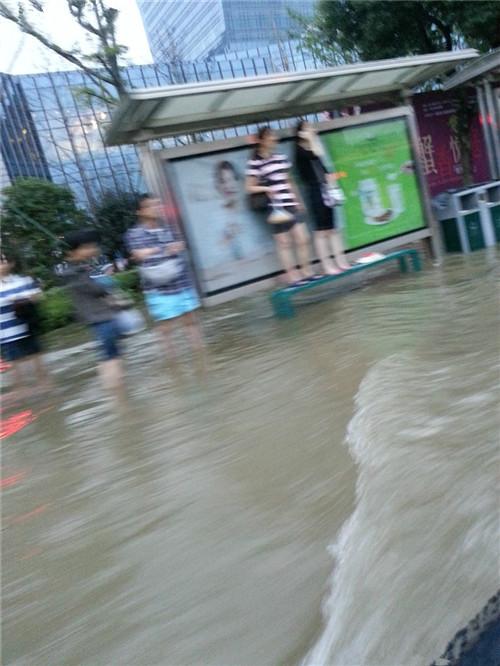 二手车车型推荐 台风入境 神行者2冲过积水路的记录2