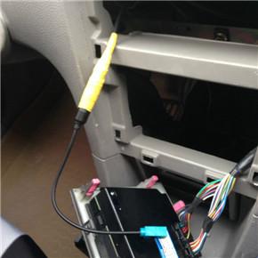 如何挑选二手车 新polo的cd装载小5身上8