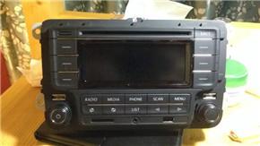 如何挑选二手车 新polo的cd装载小5身上1