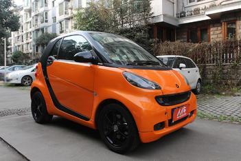 二手smart fortwo 2011款 1.0T 硬顶燃橙版图片