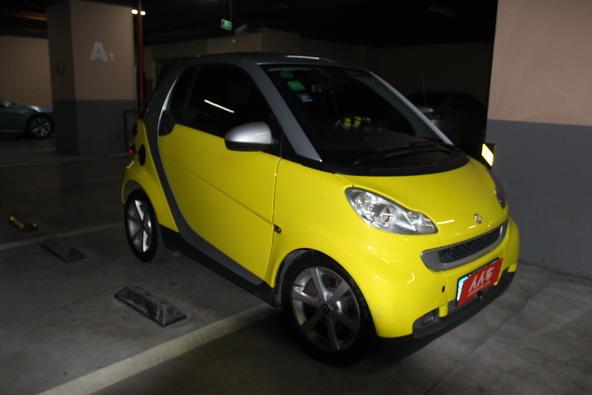 smart fortwo 2011款 1.0 MHD 敞篷燃橙版高清图片