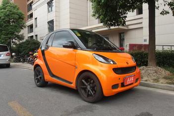 二手smart fortwo 2011款 1.0 MHD 硬顶燃橙版图片