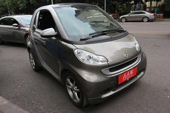 二手smart fortwo 2012款 1.0T 流光灰特别版图片