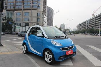 二手smart fortwo 2013款 1.0T 硬顶冰炫特别版图片