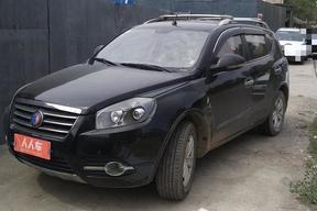 吉利汽车-SX7 2013款 1.8L 手动精英型(改装天然气)