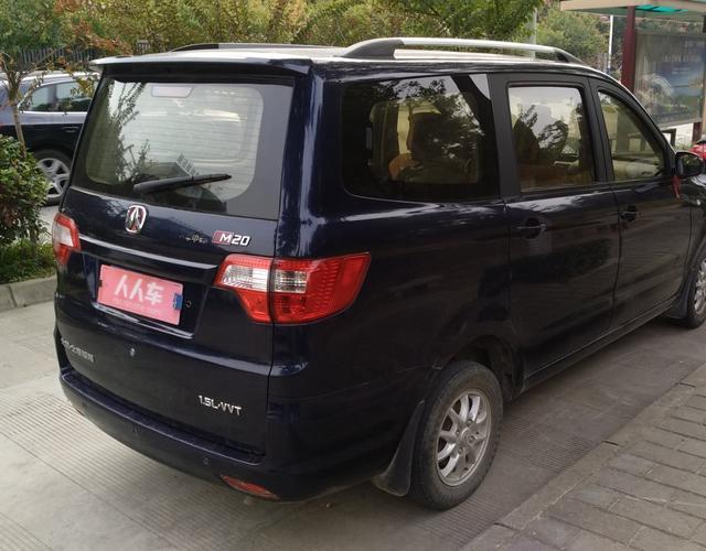 北京汽车威旺M20 2014款 1.5L 手动 7座 超豪华型 (国Ⅳ)