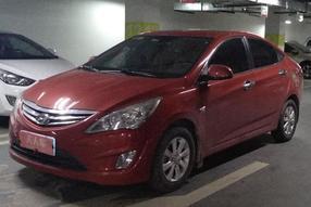 现代-瑞纳 2010款 三厢 1.4L 自动舒适型GS