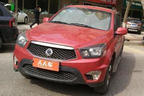 双龙-爱腾 2014款 2.0T 四驱自动豪华柴油版