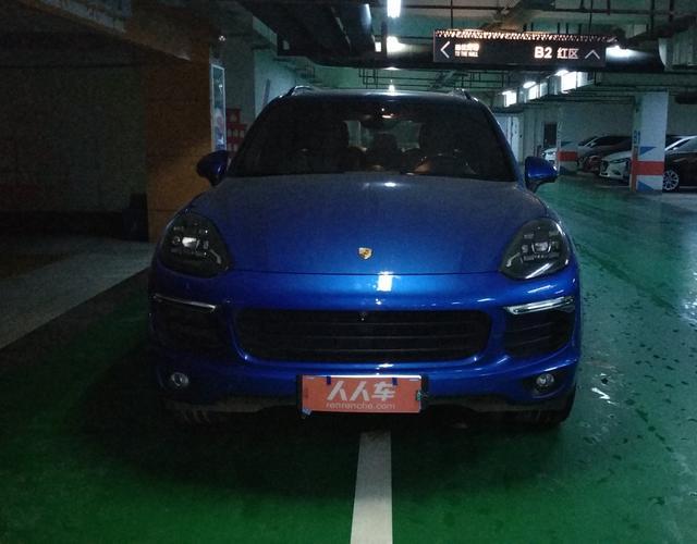 保时捷Cayenne [进口] 2016款 3.0T 自动 四驱 油电混合 S