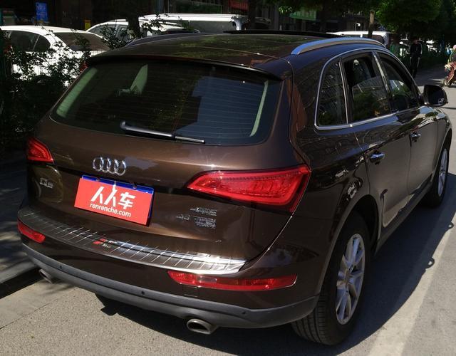 奥迪Q5 2016款 2.0T 自动 四驱 汽油 进取型 (国Ⅴ)