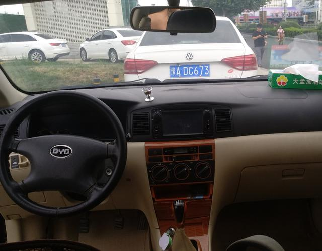 比亚迪F3 2012款 1.5L 手动 舒适型 (国Ⅴ)