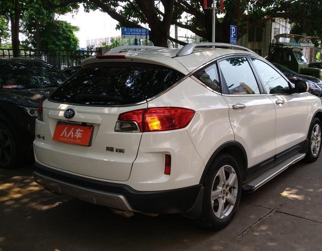 奔腾X80 2013款 2.0L 自动 前驱 豪华型 (国Ⅳ)