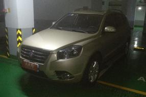 吉利汽车-吉利SX7 2014款 2.0L 自动尊贵型