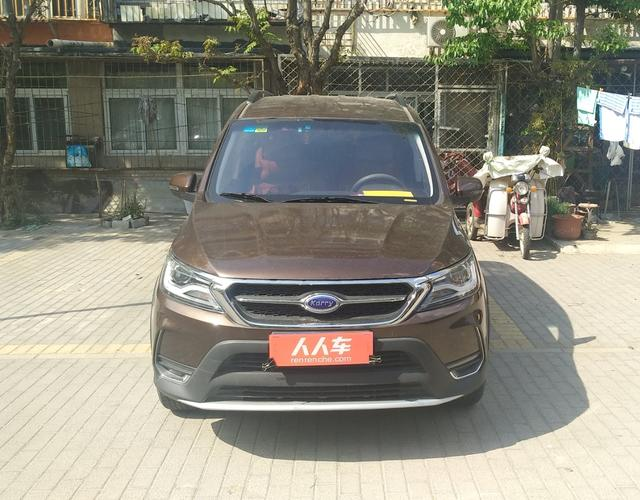 开瑞K60 2017款 1.5L 自动 豪华型 (国Ⅴ)